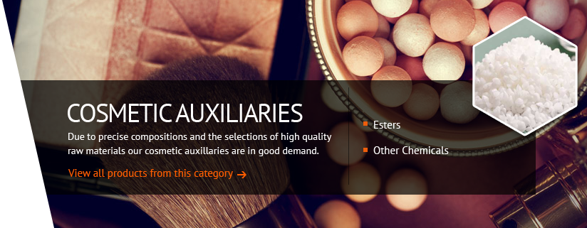 Cosmetic Auxiliaries